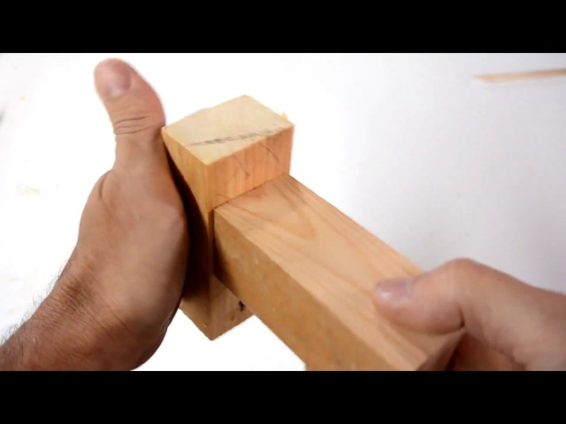 Double mortise and tenon joints