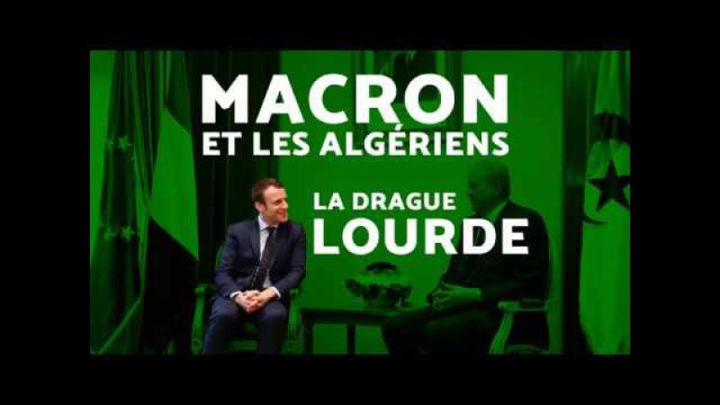 Macron candidat de la France ou de l'Algérie Marine 2017