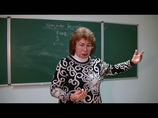 Секреты психологии. Кризисы возраста. Чем опасны и какие Психолог Наталья Кучеренко. Лекция № 31.