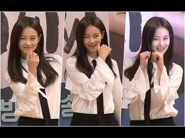 '볼매녀' 오연서 매력 '드루와 드루와~' (돌아와요 아저씨 제작발표회)