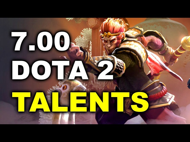 7.00 Dota 2 Patch - New LVL 25 Talents