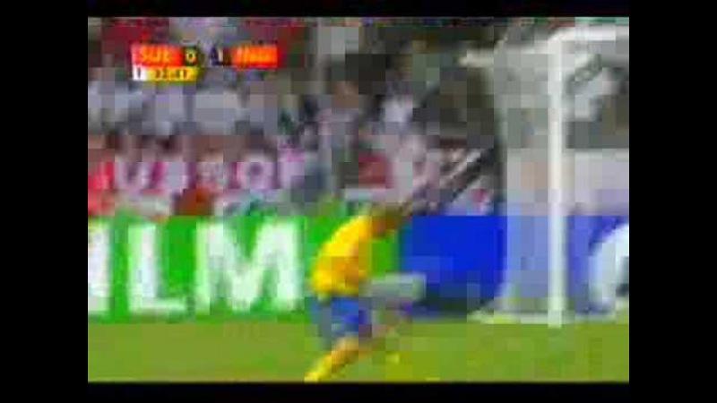 Joe Cole - Golaço na copa contra Suécia