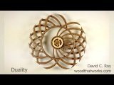 Duality Kinetic Sculpture by David C  Roy