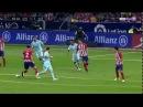 Diego Godin skill/roulette vs Messi 10/14/2017
