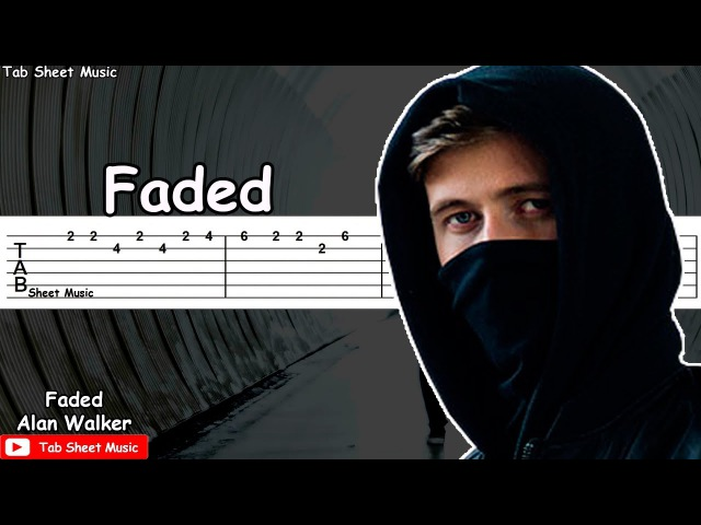 Alan Walker - Faded Guitar Tutorial