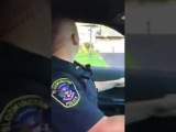 Полицейский шутник
