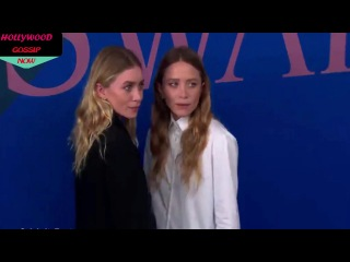 Black and white! Mary-Kate & Ashley Olsen stun at CFDA Awards 2017