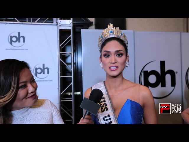 Miss Universe Pia Alonzo Wurtzbach talks her feelings as new beauty queen