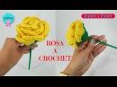 💐 Rosa a crochet paso a paso 💝 San Valentín 💝