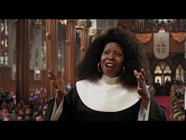 Sister Act 1992 I Will Follow Him HD Church Choir