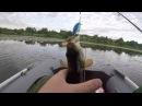 рыбалка спиннингом на подмосковной р.Вобля.последние деньки отпуска