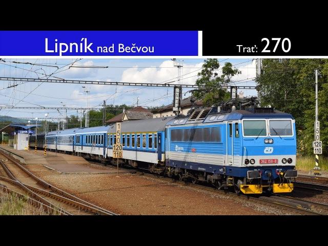 Vlaky - Lipník nad Bečvou - 16.7.2017