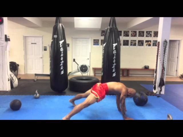 CROM's Corner Pressure Cooker Muay Thai Conditioning Work Out **Part C**