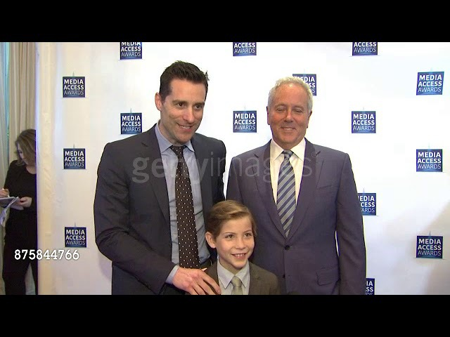 Todd Lieberman, Jacob Tremblay and David Hoberman about Media Access Awards 2017