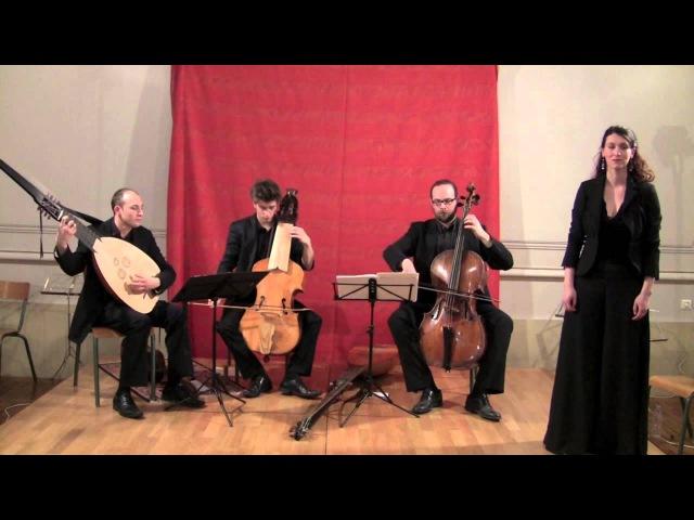 Luigi Rossi : Mio ben (Orfeo), Ensemble Anamorphoses (chant, théorbe, lirone, violoncelle)