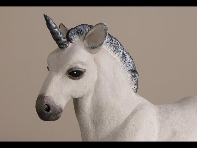 Make a Baby Unicorn with Apoxie Sculpt