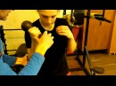Работа с гантелей для боксёра важные тонкости