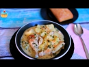 Первые блюда, супы • Сливочный СОУС ИЗ КУРИЦЫ или Тушеная курица с картофелем - ну, оОчень вкусная!