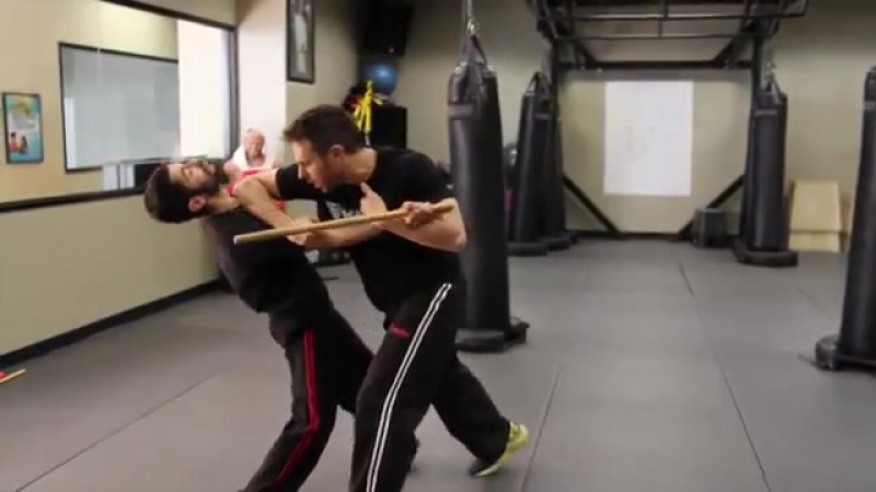 Stick Defense _ Krav Maga Technique - KMW Krav Maga Self Defense w_ AJ Draven
