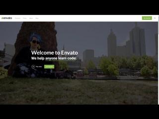Анимация текста (заголовка) на сайте