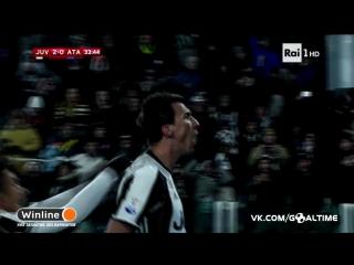 Ювентус - Аталанта 3:2. Обзор матча. Кубок Италии 2016/17. 1/8 финала.