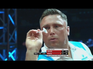 James Wade vs Gerwyn Price (Dubai Duty Free Darts Masters 2017 / Quarter Final)