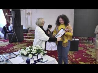 Медали журналистам от их Союза за вклад в свободу слова