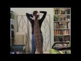Crochet chain braid for super long hair