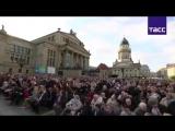 Хор Турецкого БУХЕНВАЛЬДСКИЙ НАБАТ. Концерт на Жандарменмаркт, Берлин. 7 мая 2017