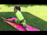 Садимся на шпагат: Простые упражнения