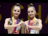 Триумфальной победой российской сборной завершается в итальянском Пезаро Чемпионат мира по художественной гимнастике!