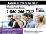 Flush Away Any Problem in No Time with Facebook Phone Number 1-850-266-7017