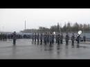Плац-парад в честь передачи новой ЛАЭС под защиту Росгвардии, 8 ноября 2017