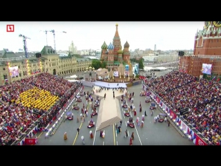 Традиционная  торжественная церемония открытия на Красной площади