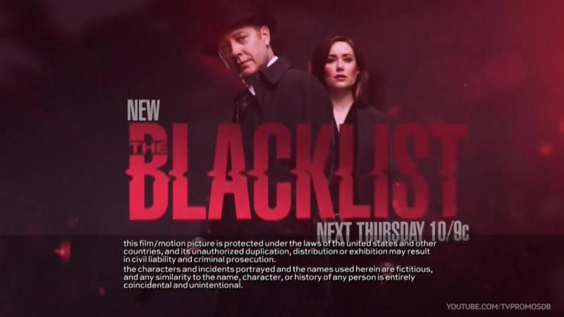 Промо Черный список The Blacklist 4 сезон 11 серия