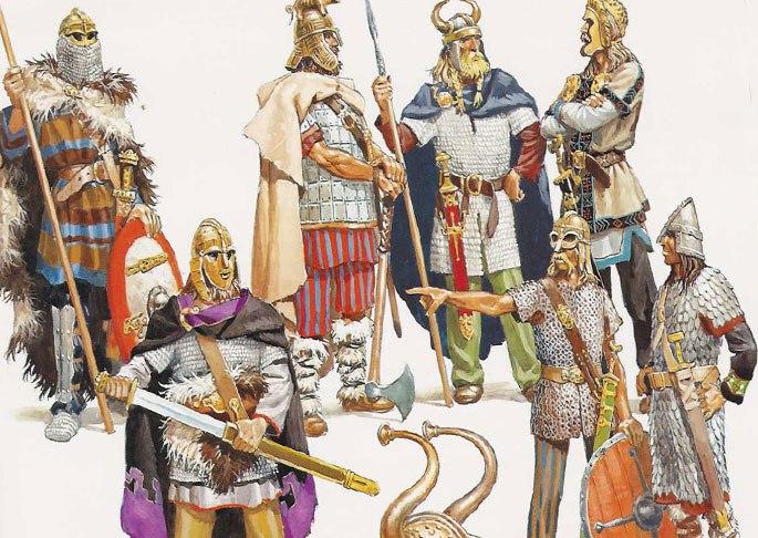 Вооружение норманнов