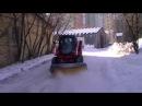 MIX Бобкет МКСМ подметает снег