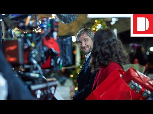 Martin Freeman Turns Heartthrob For Vodafone's Christmas Ad | Anatomy Of An Ad