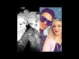 Adam Lambert on alisanporters snapchat 11/28/16 (2 snaps flipped)