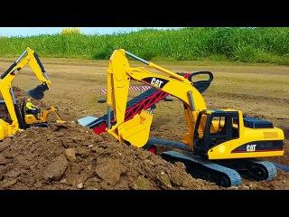 JCB Excavator | Toys Trucks For Kids | Children Video Construction Cartoon