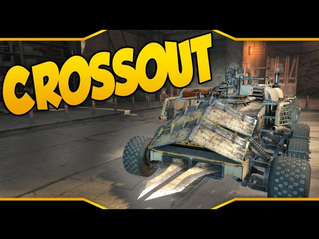 Crossout ➤ The Shredder: Shotgun Melee Build! [Let's Play Crossout Gameplay]