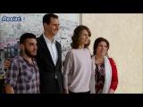 الرئيس الاسد يستقبل المختطفين المحررين م&#160