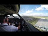 Сложные посадки глазами пилотов  cockpit view
