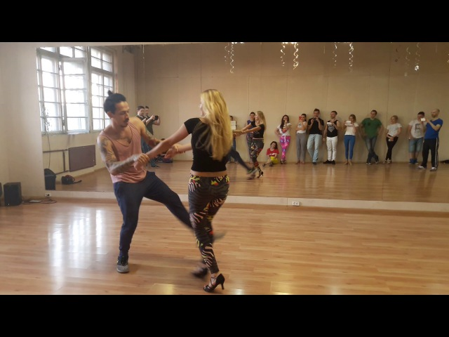 Carlos Anastasia - Zouk Demo after advanced class - 23.05.2017