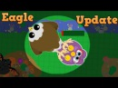 *NEW* EAGLE UPDATE GRABBING PREY T-REX BUFF, SHARK ABILITY, AND MORE (Mopelution Update)