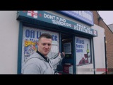 Tommy Robinson Cops threaten store over