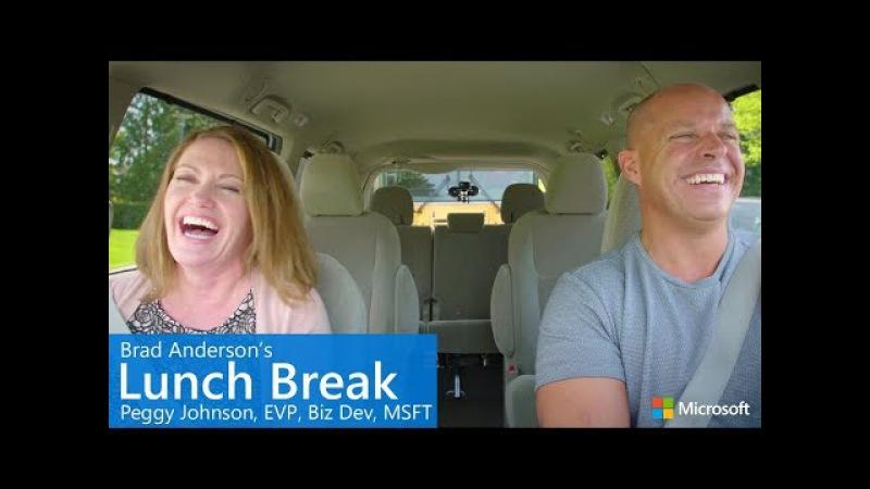 Brad Anderson's Lunch Break / s7 e5 / Peggy Johnson, EVP Business Development, Microsoft