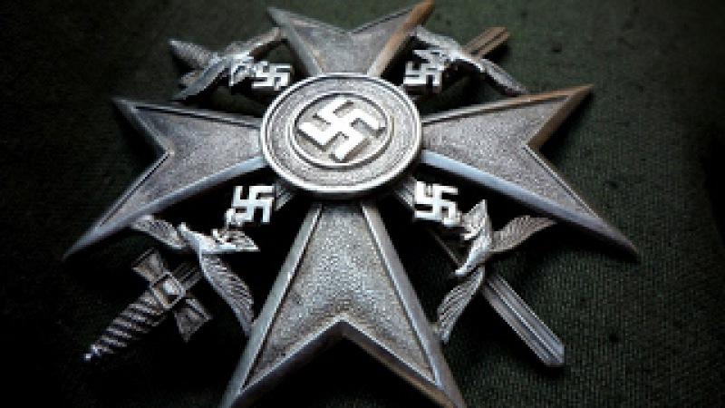 Моя лучшая находка - ИСПАНСКИЙ КРЕСТ из немецкого блиндаже / Spanish cross WW2 German Bunker