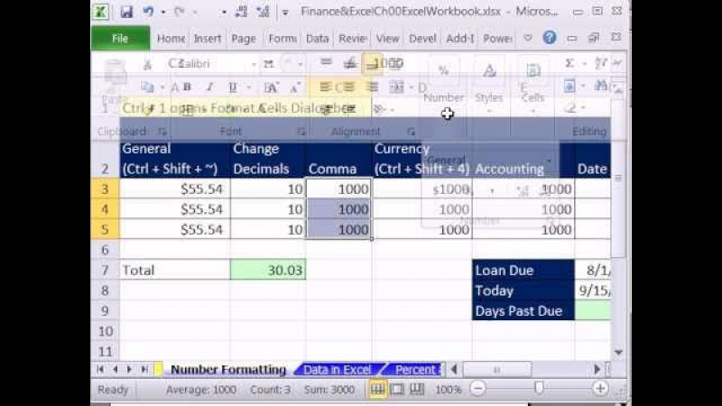 Excel Finance Class 04: The Importance Of Number Formatting In Financial Calculations