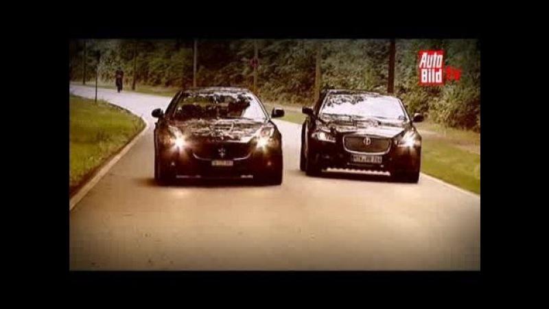 Jaguar XJ, Maserati Quattroporte GT S - Duell auf hohem Niveau